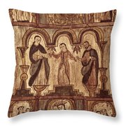 Aragon: Jesus & Disciples Throw Pillow