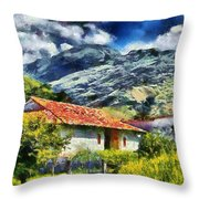 Aragua Valley Throw Pillow