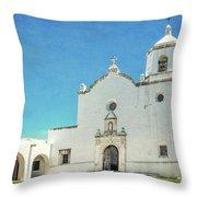 Mission La Bahia Throw Pillow