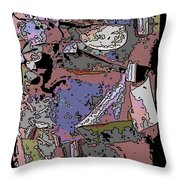 Arbor Abstract 2 Throw Pillow