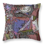 Arbor Abstract Throw Pillow