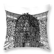 Arbor Throw Pillow
