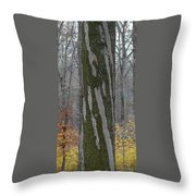 Arboreal Design Throw Pillow