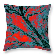 Arboreal Plateau 6 Throw Pillow