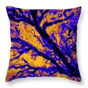 Arboreal Plateau 7 Throw Pillow