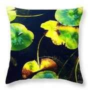 Arboretum Morning Throw Pillow