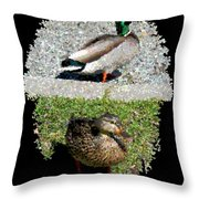 Arboretum Quackers Throw Pillow