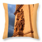 Arc De Triomphe Throw Pillow