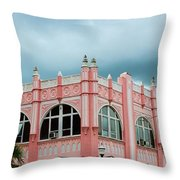 Arcade Clouds Throw Pillow