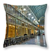 Arcade In Cleveland Throw Pillow