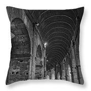 Arcades Of Coliseum  Throw Pillow
