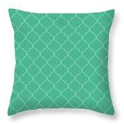 Arcadia Quatrefoil Throw Pillow