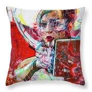 Arcadia Remixed Throw Pillow