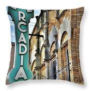 Arcadia Theater Throw Pillow