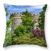 Arcadia University Castle - Glenside Pennsylvania Throw Pillow