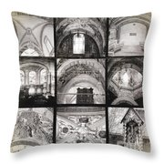 Arch 6 Throw Pillow