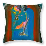 Arch Angels Throw Pillow