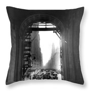 Arch At Grand Central Station Throw Pillow