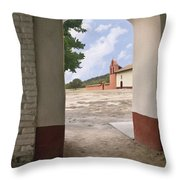 Arch At La Purisima Throw Pillow