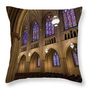Arch In The Chapel Throw Pillow