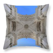Arch-itecture Throw Pillow