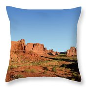 Arch National Park Throw Pillow