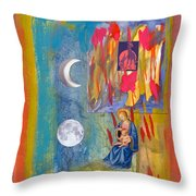 Arch Of Mary Throw Pillow
