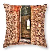 Arch To Arch. Throw Pillow