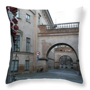 Arch Within An Arch Throw Pillow