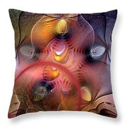 Archaean Throw Pillow
