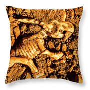Archaeology Dig Throw Pillow