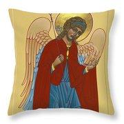 Archangel St Michael 193 Throw Pillow