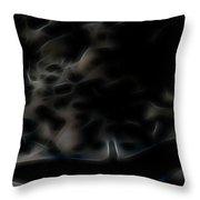 Archangel's Shadow Throw Pillow