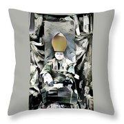 Archbishop Guernica Throw Pillow
