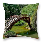 Arched Bridge Throw Pillow