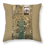 Arched Door And Window Throw Pillow
