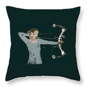 Archer Throw Pillow