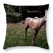 Archery Season Throw Pillow