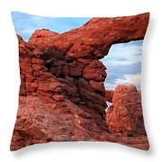 Arches 11 Throw Pillow
