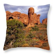 Arches 14 Throw Pillow