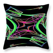 Arches 5 Throw Pillow