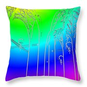Arches 7 Throw Pillow