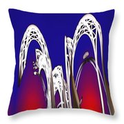 Arches 8 Throw Pillow