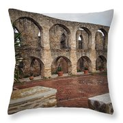 Arches And Arches Throw Pillow