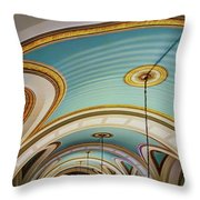Arches And Curves - Capitol Building - Missouri Throw Pillow