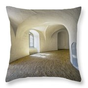 Arches And Curves Throw Pillow