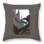 Arches And Spires Throw Pillow