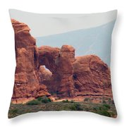 Arches Formation 22 Throw Pillow
