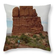 Arches Formation 23 Throw Pillow