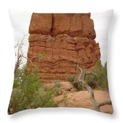 Arches Formation 24 Throw Pillow